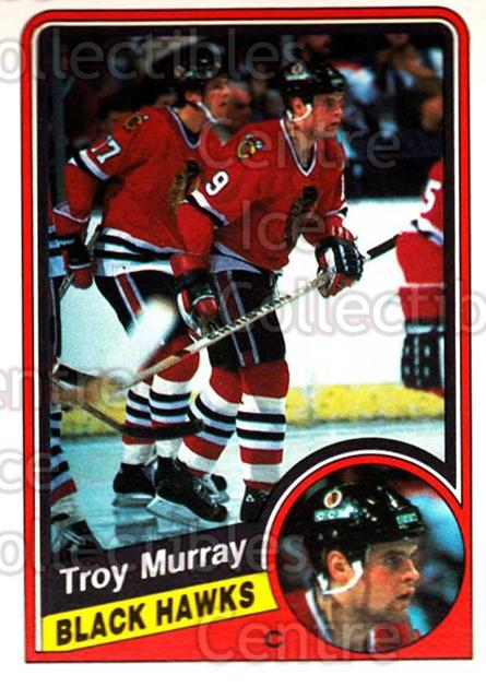 1984-85 O-Pee-Chee #42 Troy Murray<br/>7 In Stock - $1.00 each - <a href=https://centericecollectibles.foxycart.com/cart?name=1984-85%20O-Pee-Chee%20%2342%20Troy%20Murray...&quantity_max=7&price=$1.00&code=207254 class=foxycart> Buy it now! </a>
