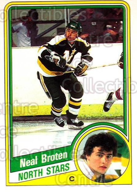 1984-85 O-Pee-Chee #96 Neal Broten<br/>8 In Stock - $1.00 each - <a href=https://centericecollectibles.foxycart.com/cart?name=1984-85%20O-Pee-Chee%20%2396%20Neal%20Broten...&quantity_max=8&price=$1.00&code=207258 class=foxycart> Buy it now! </a>
