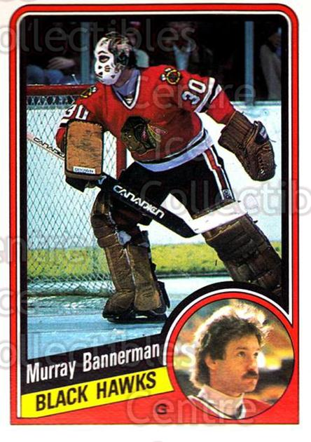 1984-85 O-Pee-Chee #32 Murray Bannerman<br/>5 In Stock - $1.00 each - <a href=https://centericecollectibles.foxycart.com/cart?name=1984-85%20O-Pee-Chee%20%2332%20Murray%20Bannerma...&quantity_max=5&price=$1.00&code=207269 class=foxycart> Buy it now! </a>