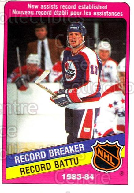 1984-85 O-Pee-Chee #393 Dale Hawerchuk<br/>8 In Stock - $1.00 each - <a href=https://centericecollectibles.foxycart.com/cart?name=1984-85%20O-Pee-Chee%20%23393%20Dale%20Hawerchuk...&quantity_max=8&price=$1.00&code=207301 class=foxycart> Buy it now! </a>