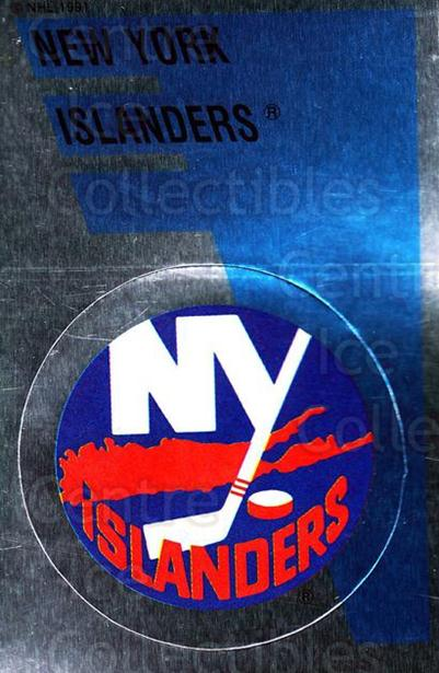 1991-92 Panini Stickers #165 New York Islanders<br/>7 In Stock - $1.00 each - <a href=https://centericecollectibles.foxycart.com/cart?name=1991-92%20Panini%20Stickers%20%23165%20New%20York%20Island...&quantity_max=7&price=$1.00&code=207347 class=foxycart> Buy it now! </a>