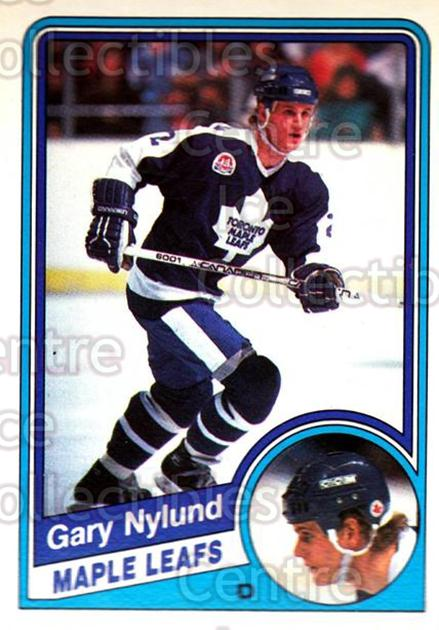 1984-85 O-Pee-Chee #307 Gary Nylund<br/>2 In Stock - $1.00 each - <a href=https://centericecollectibles.foxycart.com/cart?name=1984-85%20O-Pee-Chee%20%23307%20Gary%20Nylund...&quantity_max=2&price=$1.00&code=207409 class=foxycart> Buy it now! </a>
