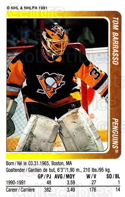 1991-92 Panini Stickers #271 Tom Barrasso<br/>5 In Stock - $1.00 each - <a href=https://centericecollectibles.foxycart.com/cart?name=1991-92%20Panini%20Stickers%20%23271%20Tom%20Barrasso...&quantity_max=5&price=$1.00&code=207436 class=foxycart> Buy it now! </a>
