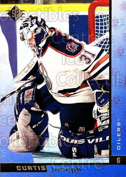 1996-97 SP #54 Curtis Joseph<br/>6 In Stock - $1.00 each - <a href=https://centericecollectibles.foxycart.com/cart?name=1996-97%20SP%20%2354%20Curtis%20Joseph...&quantity_max=6&price=$1.00&code=207465 class=foxycart> Buy it now! </a>