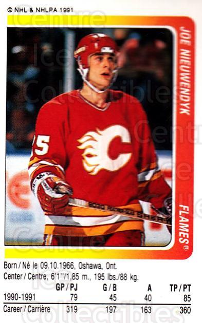 1991-92 Panini Stickers #53 Joe Nieuwendyk<br/>7 In Stock - $1.00 each - <a href=https://centericecollectibles.foxycart.com/cart?name=1991-92%20Panini%20Stickers%20%2353%20Joe%20Nieuwendyk...&quantity_max=7&price=$1.00&code=207509 class=foxycart> Buy it now! </a>