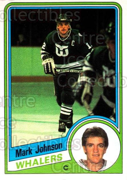 1984-85 O-Pee-Chee #72 Mark Johnson<br/>6 In Stock - $1.00 each - <a href=https://centericecollectibles.foxycart.com/cart?name=1984-85%20O-Pee-Chee%20%2372%20Mark%20Johnson...&quantity_max=6&price=$1.00&code=207522 class=foxycart> Buy it now! </a>