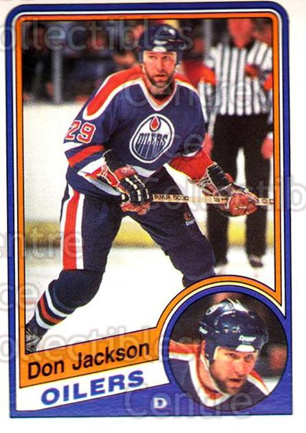 1984-85 O-Pee-Chee #247 Don Jackson<br/>2 In Stock - $1.00 each - <a href=https://centericecollectibles.foxycart.com/cart?name=1984-85%20O-Pee-Chee%20%23247%20Don%20Jackson...&quantity_max=2&price=$1.00&code=207526 class=foxycart> Buy it now! </a>