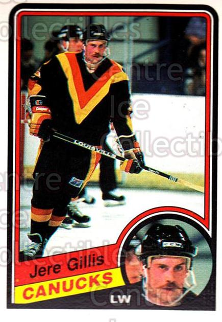 1984-85 O-Pee-Chee #318 Jere Gillis<br/>10 In Stock - $1.00 each - <a href=https://centericecollectibles.foxycart.com/cart?name=1984-85%20O-Pee-Chee%20%23318%20Jere%20Gillis...&quantity_max=10&price=$1.00&code=207570 class=foxycart> Buy it now! </a>