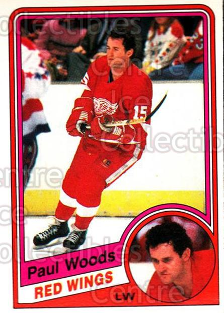1984-85 O-Pee-Chee #66 Paul Woods<br/>10 In Stock - $1.00 each - <a href=https://centericecollectibles.foxycart.com/cart?name=1984-85%20O-Pee-Chee%20%2366%20Paul%20Woods...&quantity_max=10&price=$1.00&code=207586 class=foxycart> Buy it now! </a>
