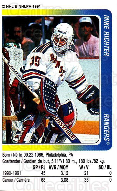 1991-92 Panini Stickers #290 Mike Richter<br/>5 In Stock - $1.00 each - <a href=https://centericecollectibles.foxycart.com/cart?name=1991-92%20Panini%20Stickers%20%23290%20Mike%20Richter...&quantity_max=5&price=$1.00&code=207612 class=foxycart> Buy it now! </a>