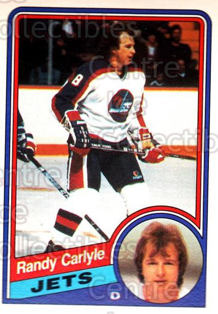 1984-85 O-Pee-Chee #337 Randy Carlyle<br/>8 In Stock - $1.00 each - <a href=https://centericecollectibles.foxycart.com/cart?name=1984-85%20O-Pee-Chee%20%23337%20Randy%20Carlyle...&quantity_max=8&price=$1.00&code=207618 class=foxycart> Buy it now! </a>