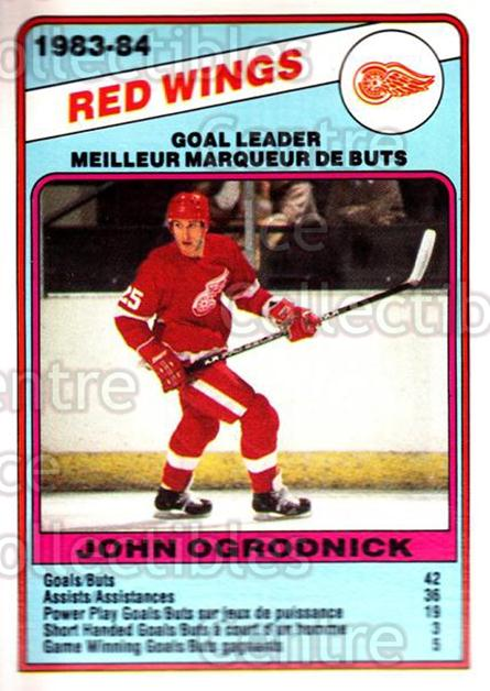 1984-85 O-Pee-Chee #356 John Ogrodnick<br/>9 In Stock - $1.00 each - <a href=https://centericecollectibles.foxycart.com/cart?name=1984-85%20O-Pee-Chee%20%23356%20John%20Ogrodnick...&quantity_max=9&price=$1.00&code=207629 class=foxycart> Buy it now! </a>