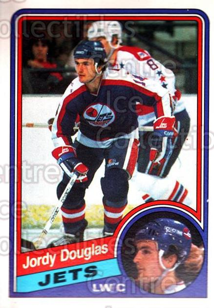 1984-85 O-Pee-Chee #338 Jordy Douglas<br/>6 In Stock - $1.00 each - <a href=https://centericecollectibles.foxycart.com/cart?name=1984-85%20O-Pee-Chee%20%23338%20Jordy%20Douglas...&quantity_max=6&price=$1.00&code=207651 class=foxycart> Buy it now! </a>