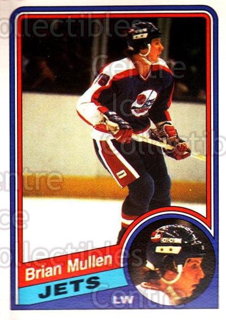 1984-85 O-Pee-Chee #344 Brian Mullen<br/>9 In Stock - $1.00 each - <a href=https://centericecollectibles.foxycart.com/cart?name=1984-85%20O-Pee-Chee%20%23344%20Brian%20Mullen...&quantity_max=9&price=$1.00&code=207665 class=foxycart> Buy it now! </a>