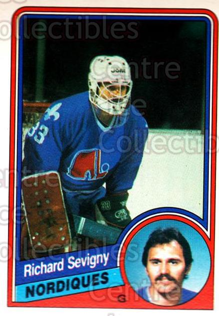 1984-85 O-Pee-Chee #289 Richard Sevigny<br/>2 In Stock - $1.00 each - <a href=https://centericecollectibles.foxycart.com/cart?name=1984-85%20O-Pee-Chee%20%23289%20Richard%20Sevigny...&quantity_max=2&price=$1.00&code=207690 class=foxycart> Buy it now! </a>