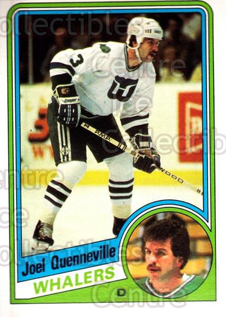 1984-85 O-Pee-Chee #77 Joel Quenneville<br/>7 In Stock - $1.00 each - <a href=https://centericecollectibles.foxycart.com/cart?name=1984-85%20O-Pee-Chee%20%2377%20Joel%20Quennevill...&quantity_max=7&price=$1.00&code=207703 class=foxycart> Buy it now! </a>