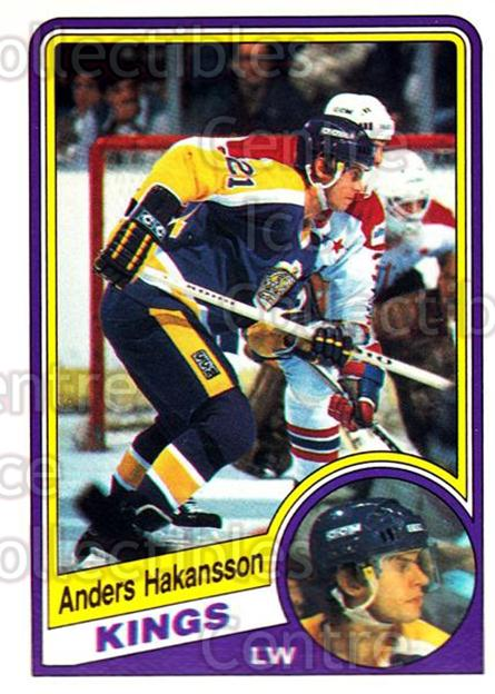 1984-85 O-Pee-Chee #85 Anders Hakansson<br/>7 In Stock - $1.00 each - <a href=https://centericecollectibles.foxycart.com/cart?name=1984-85%20O-Pee-Chee%20%2385%20Anders%20Hakansso...&quantity_max=7&price=$1.00&code=207704 class=foxycart> Buy it now! </a>