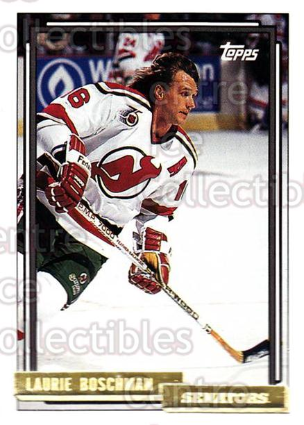 1992-93 Topps Gold #246 Laurie Boschman<br/>5 In Stock - $2.00 each - <a href=https://centericecollectibles.foxycart.com/cart?name=1992-93%20Topps%20Gold%20%23246%20Laurie%20Boschman...&quantity_max=5&price=$2.00&code=207727 class=foxycart> Buy it now! </a>