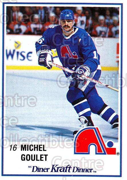 1989-90 Kraft #30 Michel Goulet<br/>6 In Stock - $2.00 each - <a href=https://centericecollectibles.foxycart.com/cart?name=1989-90%20Kraft%20%2330%20Michel%20Goulet...&quantity_max=6&price=$2.00&code=20772 class=foxycart> Buy it now! </a>