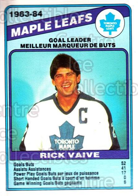 1984-85 O-Pee-Chee #368 Rick Vaive<br/>6 In Stock - $1.00 each - <a href=https://centericecollectibles.foxycart.com/cart?name=1984-85%20O-Pee-Chee%20%23368%20Rick%20Vaive...&quantity_max=6&price=$1.00&code=207730 class=foxycart> Buy it now! </a>