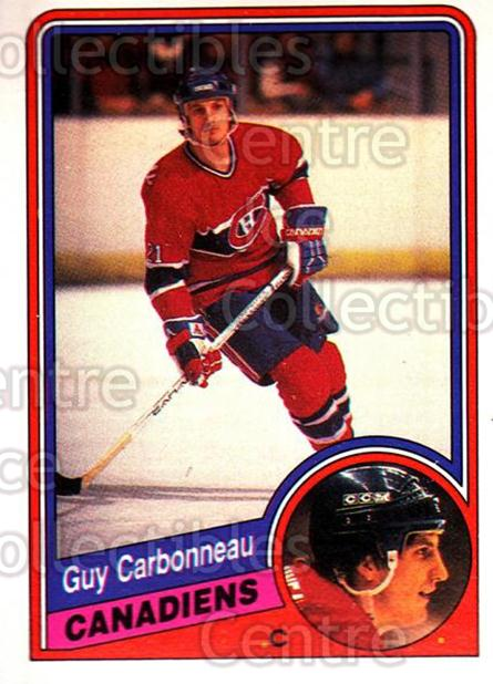 1984-85 O-Pee-Chee #257 Guy Carbonneau<br/>1 In Stock - $1.00 each - <a href=https://centericecollectibles.foxycart.com/cart?name=1984-85%20O-Pee-Chee%20%23257%20Guy%20Carbonneau...&quantity_max=1&price=$1.00&code=207732 class=foxycart> Buy it now! </a>