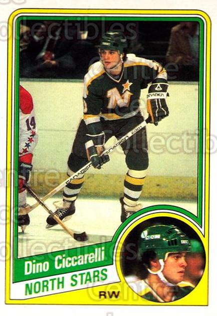 1984-85 O-Pee-Chee #97 Dino Ciccarelli<br/>7 In Stock - $1.00 each - <a href=https://centericecollectibles.foxycart.com/cart?name=1984-85%20O-Pee-Chee%20%2397%20Dino%20Ciccarelli...&quantity_max=7&price=$1.00&code=207755 class=foxycart> Buy it now! </a>