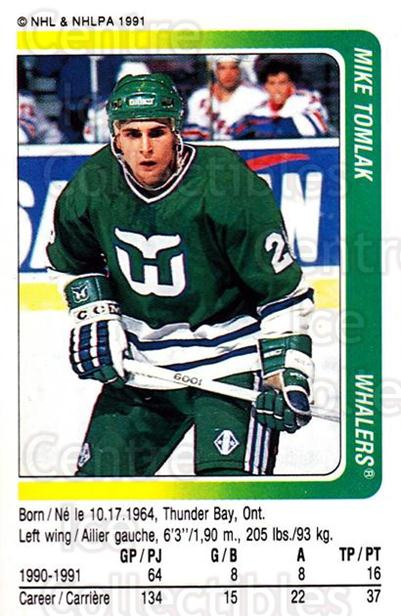 1991-92 Panini Stickers #319 Mike Tomlak<br/>7 In Stock - $1.00 each - <a href=https://centericecollectibles.foxycart.com/cart?name=1991-92%20Panini%20Stickers%20%23319%20Mike%20Tomlak...&quantity_max=7&price=$1.00&code=207766 class=foxycart> Buy it now! </a>
