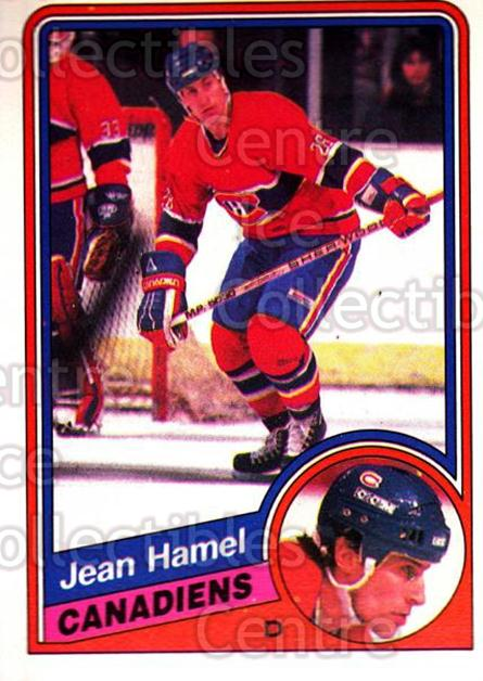 1984-85 O-Pee-Chee #263 Jean Hamel<br/>4 In Stock - $1.00 each - <a href=https://centericecollectibles.foxycart.com/cart?name=1984-85%20O-Pee-Chee%20%23263%20Jean%20Hamel...&quantity_max=4&price=$1.00&code=207769 class=foxycart> Buy it now! </a>