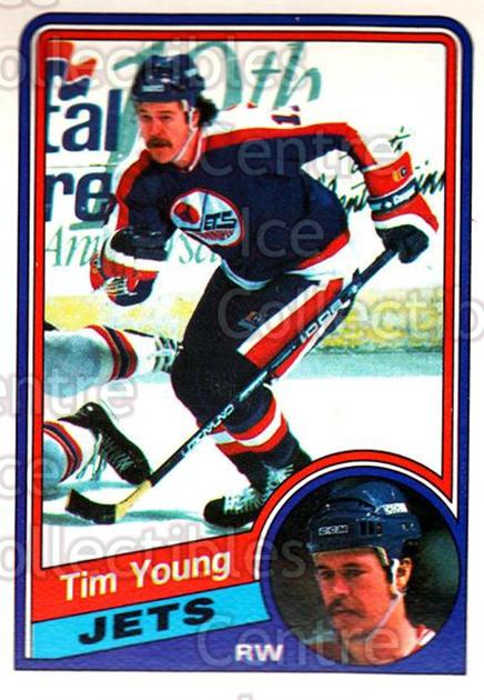 1984-85 O-Pee-Chee #351 Tim Young<br/>6 In Stock - $1.00 each - <a href=https://centericecollectibles.foxycart.com/cart?name=1984-85%20O-Pee-Chee%20%23351%20Tim%20Young...&quantity_max=6&price=$1.00&code=207799 class=foxycart> Buy it now! </a>