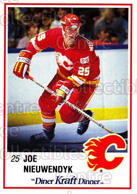 1989-90 Kraft #5 Joe Nieuwendyk<br/>5 In Stock - $2.00 each - <a href=https://centericecollectibles.foxycart.com/cart?name=1989-90%20Kraft%20%235%20Joe%20Nieuwendyk...&quantity_max=5&price=$2.00&code=20786 class=foxycart> Buy it now! </a>