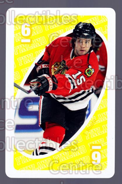 2007 Mattel Uno Stars of Finland #33 Tuomo Ruutu<br/>4 In Stock - $3.00 each - <a href=https://centericecollectibles.foxycart.com/cart?name=2007%20Mattel%20Uno%20Stars%20of%20Finland%20%2333%20Tuomo%20Ruutu...&quantity_max=4&price=$3.00&code=208025 class=foxycart> Buy it now! </a>