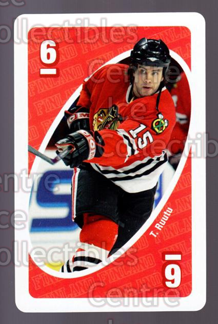 2007 Mattel Uno Stars of Finland #46 Tuomo Ruutu<br/>4 In Stock - $3.00 each - <a href=https://centericecollectibles.foxycart.com/cart?name=2007%20Mattel%20Uno%20Stars%20of%20Finland%20%2346%20Tuomo%20Ruutu...&quantity_max=4&price=$3.00&code=208038 class=foxycart> Buy it now! </a>
