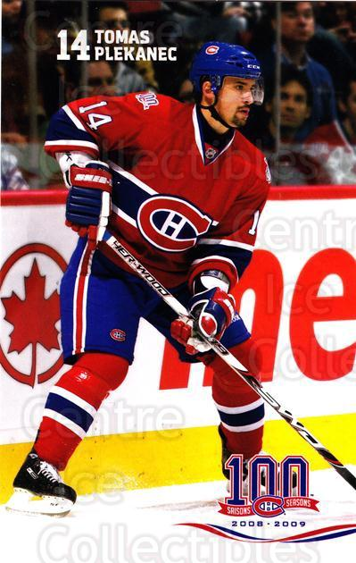 2008-09 Montreal Canadiens Postcards #3 Tomas Plekanec<br/>10 In Stock - $3.00 each - <a href=https://centericecollectibles.foxycart.com/cart?name=2008-09%20Montreal%20Canadiens%20Postcards%20%233%20Tomas%20Plekanec...&quantity_max=10&price=$3.00&code=208093 class=foxycart> Buy it now! </a>