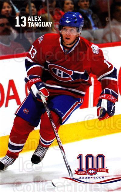 2008-09 Montreal Canadiens Postcards #9 Alex Tanguay<br/>8 In Stock - $3.00 each - <a href=https://centericecollectibles.foxycart.com/cart?name=2008-09%20Montreal%20Canadiens%20Postcards%20%239%20Alex%20Tanguay...&quantity_max=8&price=$3.00&code=208099 class=foxycart> Buy it now! </a>