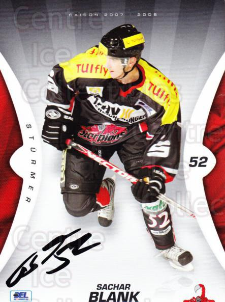 2007-08 German Hannover Scorpions Postcards #1 Sachar Blank<br/>3 In Stock - $3.00 each - <a href=https://centericecollectibles.foxycart.com/cart?name=2007-08%20German%20Hannover%20Scorpions%20Postcards%20%231%20Sachar%20Blank...&quantity_max=3&price=$3.00&code=208153 class=foxycart> Buy it now! </a>