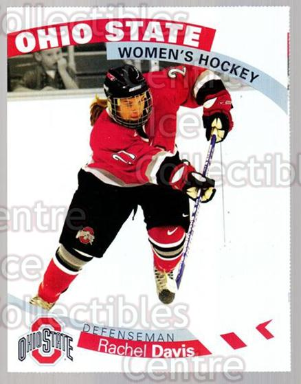 2007-08 Ohio State Buckeyes Women #12 Rachel Davis<br/>6 In Stock - $3.00 each - <a href=https://centericecollectibles.foxycart.com/cart?name=2007-08%20Ohio%20State%20Buckeyes%20Women%20%2312%20Rachel%20Davis...&price=$3.00&code=208706 class=foxycart> Buy it now! </a>