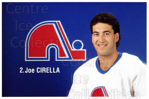 1989-90 Quebec Nordiques Team Issue #5 Joe Cirella<br/>6 In Stock - $3.00 each - <a href=https://centericecollectibles.foxycart.com/cart?name=1989-90%20Quebec%20Nordiques%20Team%20Issue%20%235%20Joe%20Cirella...&quantity_max=6&price=$3.00&code=20871 class=foxycart> Buy it now! </a>