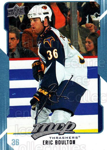 2008-09 Upper Deck MVP #14 Eric Boulton<br/>6 In Stock - $1.00 each - <a href=https://centericecollectibles.foxycart.com/cart?name=2008-09%20Upper%20Deck%20MVP%20%2314%20Eric%20Boulton...&quantity_max=6&price=$1.00&code=208830 class=foxycart> Buy it now! </a>