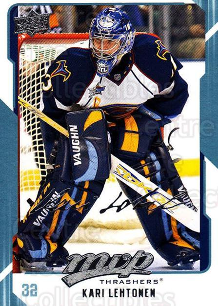 2008-09 Upper Deck MVP #18 Kari Lehtonen<br/>4 In Stock - $1.00 each - <a href=https://centericecollectibles.foxycart.com/cart?name=2008-09%20Upper%20Deck%20MVP%20%2318%20Kari%20Lehtonen...&quantity_max=4&price=$1.00&code=208834 class=foxycart> Buy it now! </a>