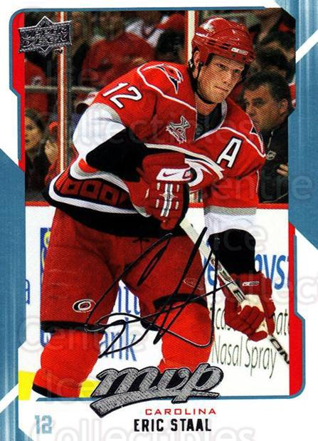2008-09 Upper Deck MVP #51 Eric Staal<br/>6 In Stock - $1.00 each - <a href=https://centericecollectibles.foxycart.com/cart?name=2008-09%20Upper%20Deck%20MVP%20%2351%20Eric%20Staal...&quantity_max=6&price=$1.00&code=208867 class=foxycart> Buy it now! </a>