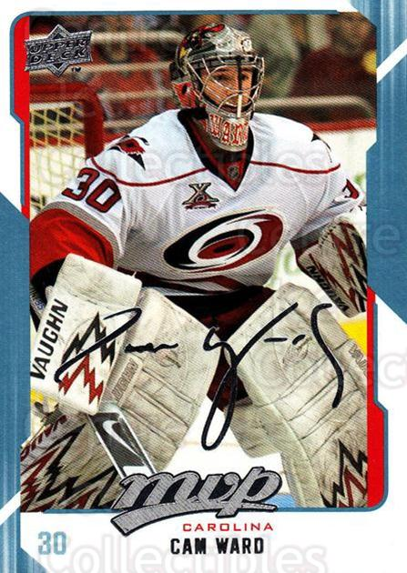 2008-09 Upper Deck MVP #56 Cam Ward<br/>5 In Stock - $1.00 each - <a href=https://centericecollectibles.foxycart.com/cart?name=2008-09%20Upper%20Deck%20MVP%20%2356%20Cam%20Ward...&price=$1.00&code=208872 class=foxycart> Buy it now! </a>
