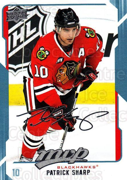 2008-09 Upper Deck MVP #62 Patrick Sharp<br/>6 In Stock - $1.00 each - <a href=https://centericecollectibles.foxycart.com/cart?name=2008-09%20Upper%20Deck%20MVP%20%2362%20Patrick%20Sharp...&quantity_max=6&price=$1.00&code=208878 class=foxycart> Buy it now! </a>