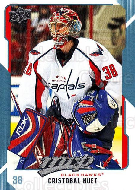 2008-09 Upper Deck MVP #70 Cristobal Huet<br/>3 In Stock - $1.00 each - <a href=https://centericecollectibles.foxycart.com/cart?name=2008-09%20Upper%20Deck%20MVP%20%2370%20Cristobal%20Huet...&quantity_max=3&price=$1.00&code=208886 class=foxycart> Buy it now! </a>