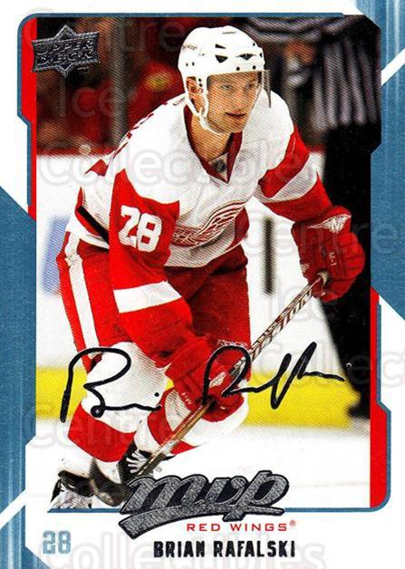 2008-09 Upper Deck MVP #109 Brian Rafalski<br/>5 In Stock - $1.00 each - <a href=https://centericecollectibles.foxycart.com/cart?name=2008-09%20Upper%20Deck%20MVP%20%23109%20Brian%20Rafalski...&quantity_max=5&price=$1.00&code=208925 class=foxycart> Buy it now! </a>