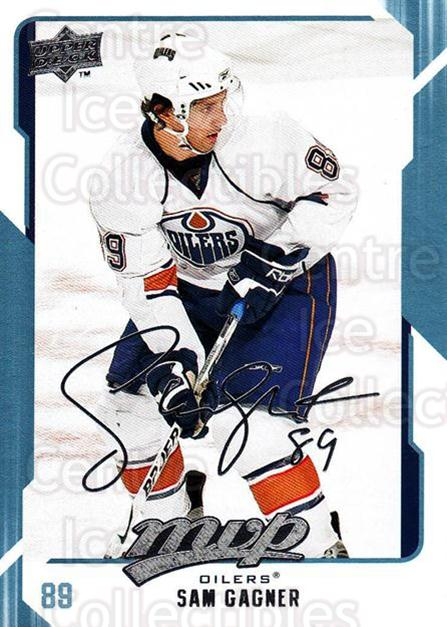 2008-09 Upper Deck MVP #118 Sam Gagner<br/>5 In Stock - $1.00 each - <a href=https://centericecollectibles.foxycart.com/cart?name=2008-09%20Upper%20Deck%20MVP%20%23118%20Sam%20Gagner...&quantity_max=5&price=$1.00&code=208934 class=foxycart> Buy it now! </a>