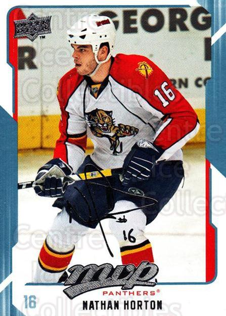 2008-09 Upper Deck MVP #126 Nathan Horton<br/>6 In Stock - $1.00 each - <a href=https://centericecollectibles.foxycart.com/cart?name=2008-09%20Upper%20Deck%20MVP%20%23126%20Nathan%20Horton...&quantity_max=6&price=$1.00&code=208942 class=foxycart> Buy it now! </a>