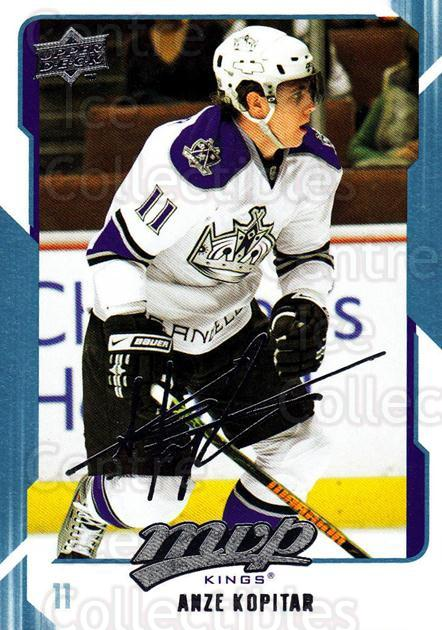 2008-09 Upper Deck MVP #135 Anze Kopitar<br/>6 In Stock - $1.00 each - <a href=https://centericecollectibles.foxycart.com/cart?name=2008-09%20Upper%20Deck%20MVP%20%23135%20Anze%20Kopitar...&quantity_max=6&price=$1.00&code=208951 class=foxycart> Buy it now! </a>