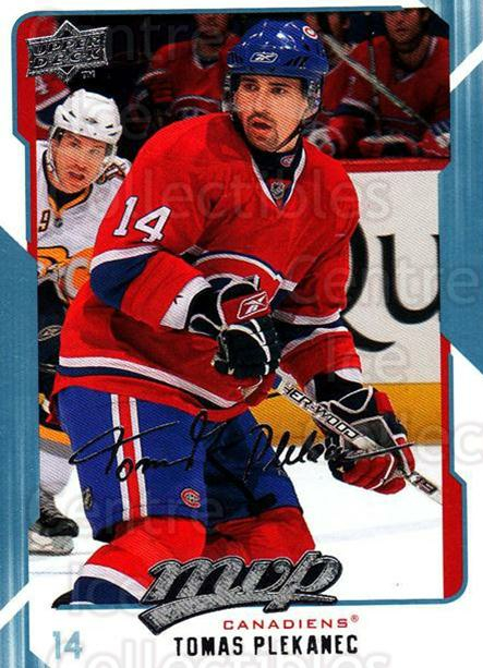 2008-09 Upper Deck MVP #153 Tomas Plekanec<br/>5 In Stock - $1.00 each - <a href=https://centericecollectibles.foxycart.com/cart?name=2008-09%20Upper%20Deck%20MVP%20%23153%20Tomas%20Plekanec...&quantity_max=5&price=$1.00&code=208969 class=foxycart> Buy it now! </a>