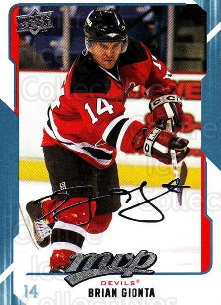 2008-09 Upper Deck MVP #174 Brian Gionta<br/>6 In Stock - $1.00 each - <a href=https://centericecollectibles.foxycart.com/cart?name=2008-09%20Upper%20Deck%20MVP%20%23174%20Brian%20Gionta...&quantity_max=6&price=$1.00&code=208990 class=foxycart> Buy it now! </a>