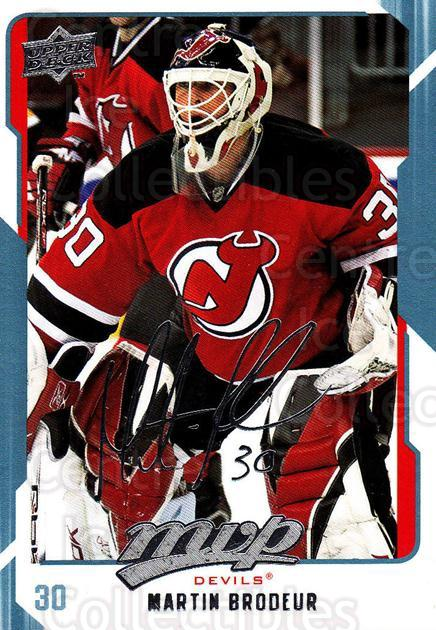 2008-09 Upper Deck MVP #175 Martin Brodeur<br/>5 In Stock - $2.00 each - <a href=https://centericecollectibles.foxycart.com/cart?name=2008-09%20Upper%20Deck%20MVP%20%23175%20Martin%20Brodeur...&quantity_max=5&price=$2.00&code=208991 class=foxycart> Buy it now! </a>